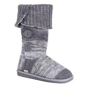 Muk Luks Cuffed Sweater Boots